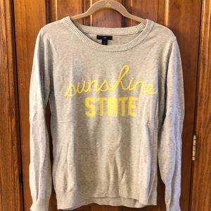 Sunshine State Gap Sweater
